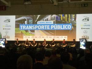 Setor do transporte apresenta proposta pela mobilidade aos presidenciáveis