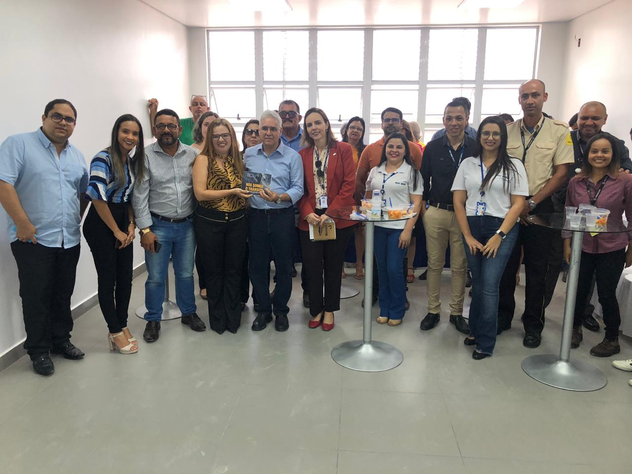 Presidente da Fetralse conhece as instalações do Sest Senat de Arapiraca
