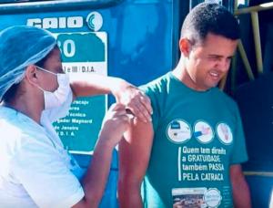 Campanha de vacinação é intensificada em empresas de ônibus
