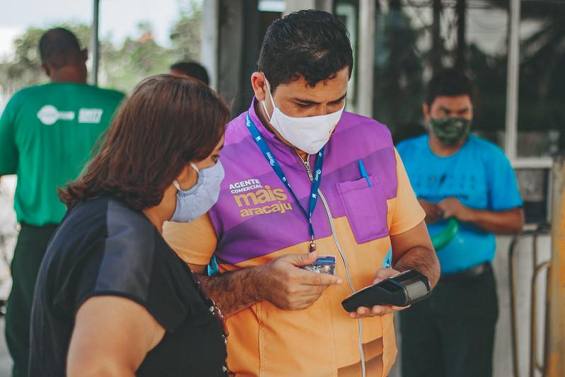 Com mais agentes comercias, Aracajucard reforça ação de prevenção com cartão pré-pago