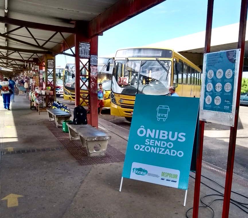 Empresas de ônibus fortalecem combate a Covid-19 com ozonização