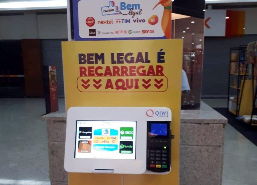 Sinturb inaugura totem de recarga no Maceió Shopping