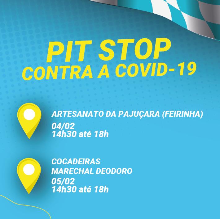 Fetralse lança Pit Stop Transporte Cuidado