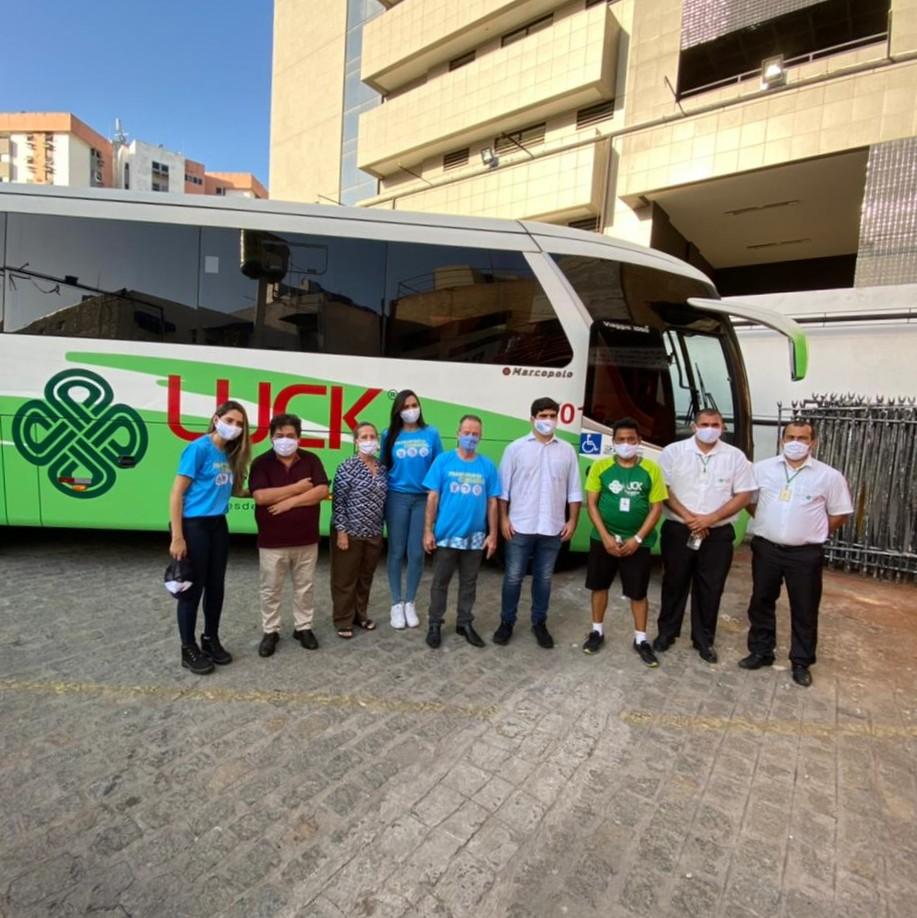 SINFRETUR movimenta setor do Turismo com o Pit Stop Transporte Cuidado
