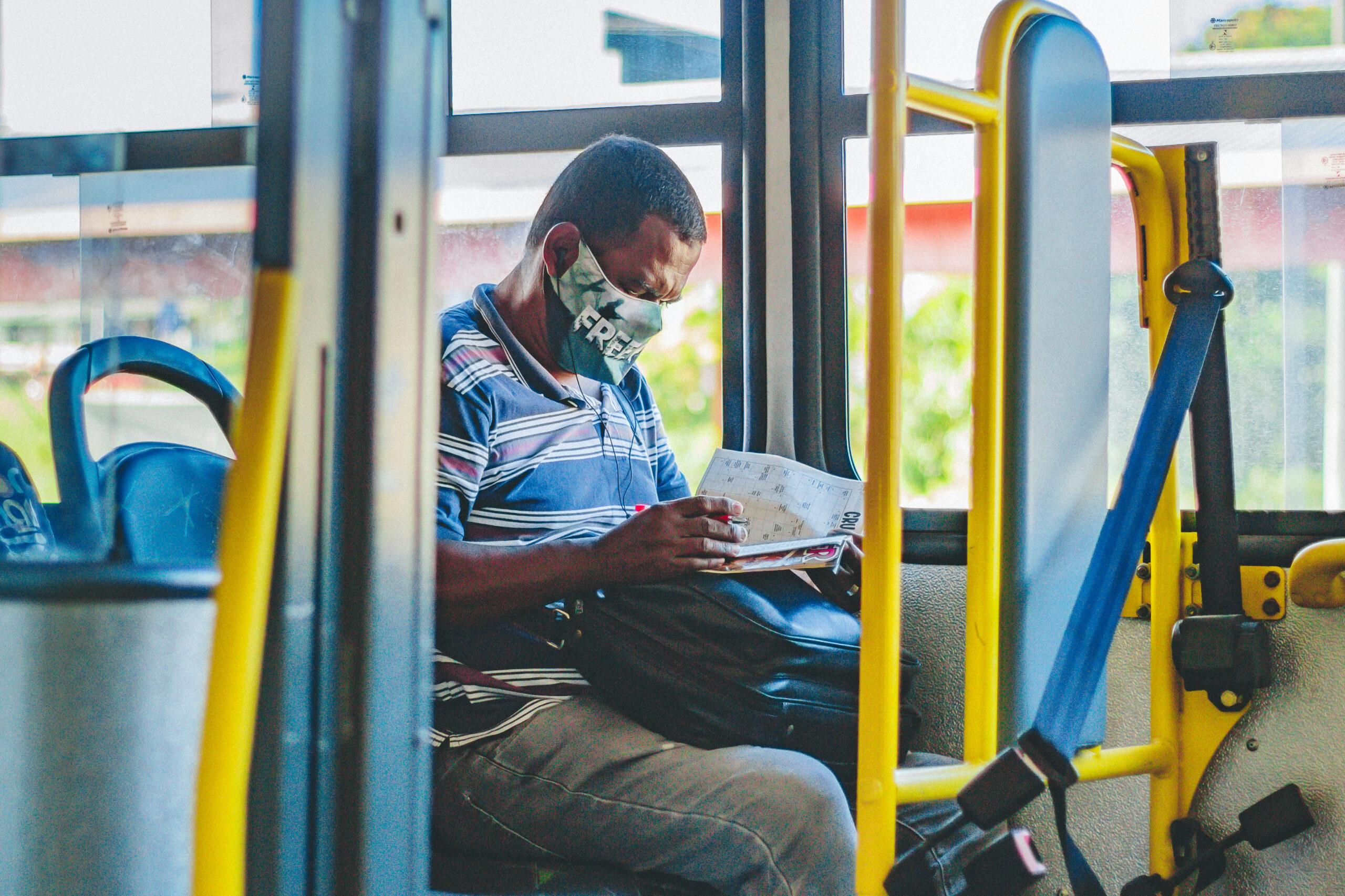 Pesquisa mostra que transporte coletivo não está entre os alvos de contaminação