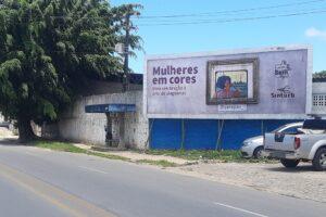 Mês da mulher: obras de artistas alagoanas estampam ônibus de Maceió