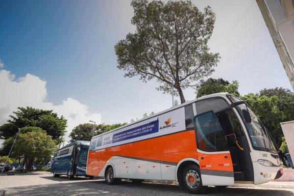 Sinfretur/AL firma parceria com Estado de Alagoas para transporte de mais de mil profissionais da saúde