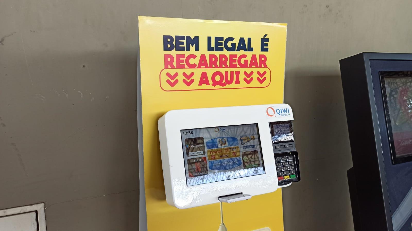 Terminal Rodoviário de Maceió recebe totem de recarga do Cartão Bem Legal