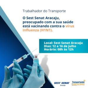 Transportando Saúde: SEST SENAT Aracaju dá início às atividades nesta semana