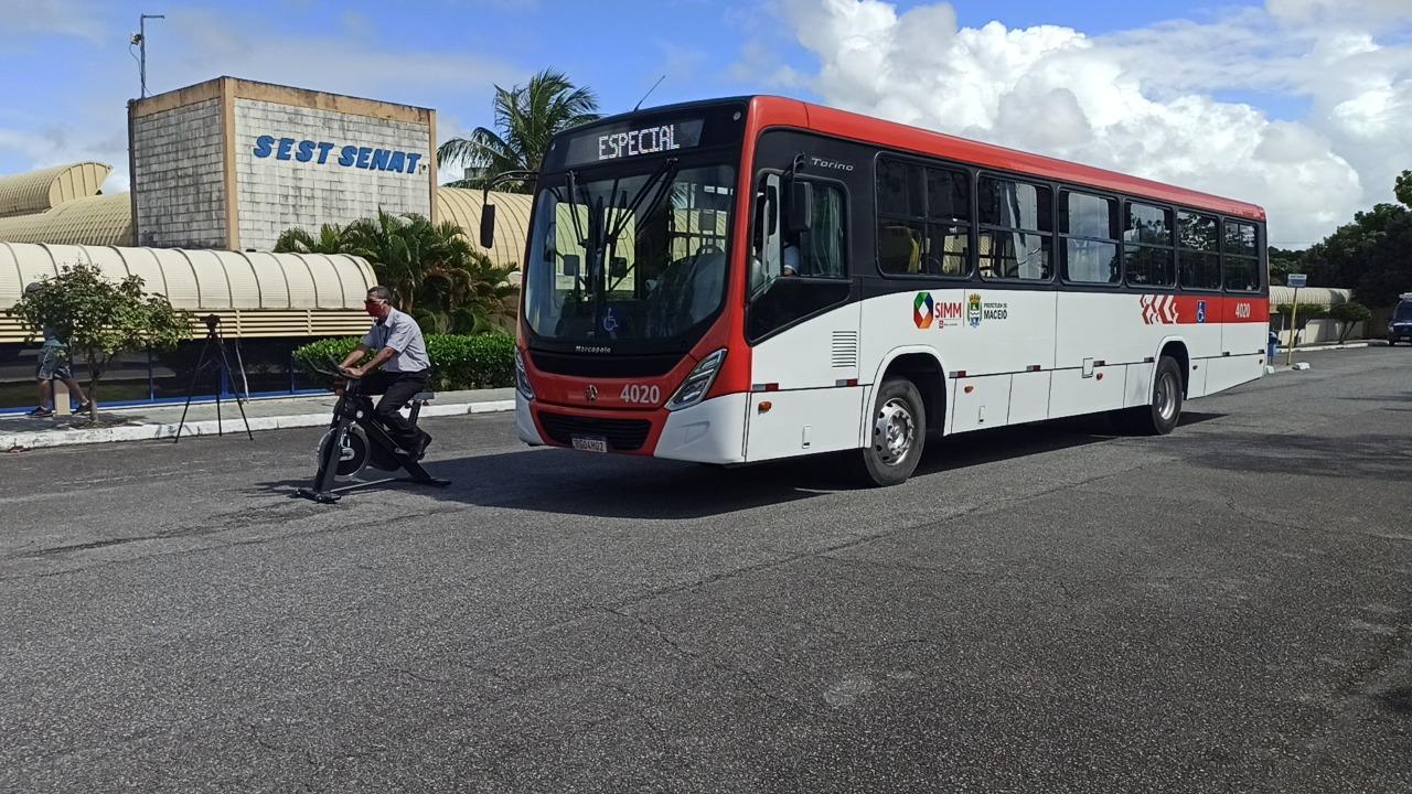 Motoristas de ônibus passam por qualificações no Sest Senat para melhorar transporte coletivo